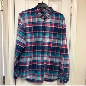 NWOT Crown & Ivy multicolored shirt